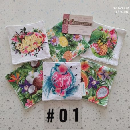 lingette: collection tropical 01